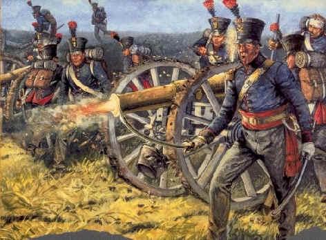 Artillerie te voet