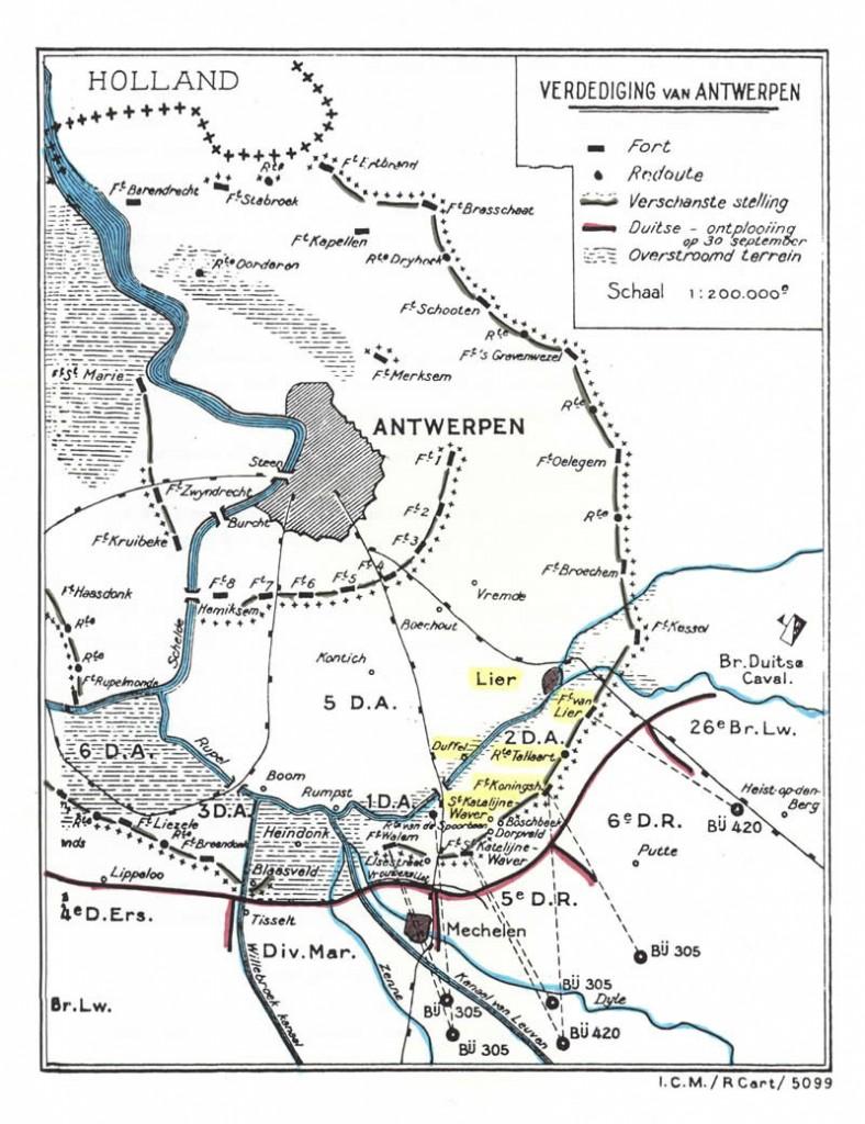 Verdediging Antwerpen