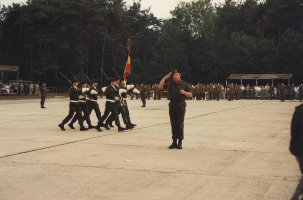 Het eerste Regimentsfeest in Helchteren