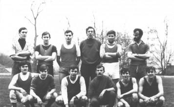 Voelbalploeg A-bij 1973