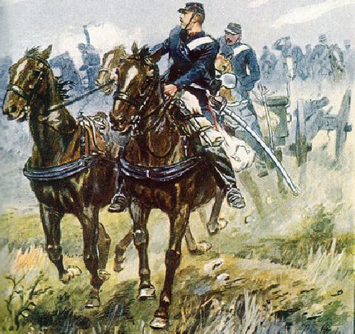 Bereden artillerie